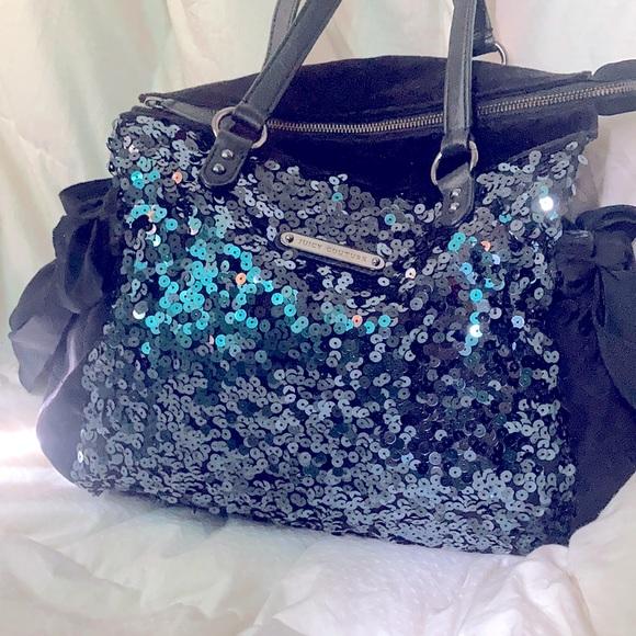 Juicy Couture Black DayDreamer Sequin Handbag/Tote